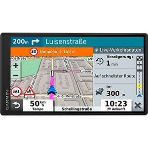 "Garmin DriveSmart 55 EU MT-D navigator 14 cm (5.5"") Berøringsskærm TFT Fastgjort Sort 151 g"