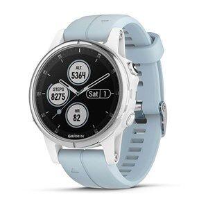 "Garmin fenix 5S Plus smartwatch Hvid MIP 3,05 cm (1.2"") GPS (satellit)"
