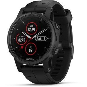 Garmin fenix 5S Plus sportsur Sort 240 x 240 pixel Bluetooth