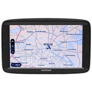 """TomTom Start 62 navigator 15,2 cm (6"""") Berøringsskærm Håndholdt / Fastsat Sort 280 g"""