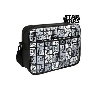 STAR WARS Shoulder Bag Star Wars Sort - Bæreseler og Babyslynge - STAR WARS