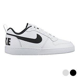 Nike Sportssko til børn Nike COURT BOROUGH LOW (GS) Hvid Sort (Usa størrelse) 4Y