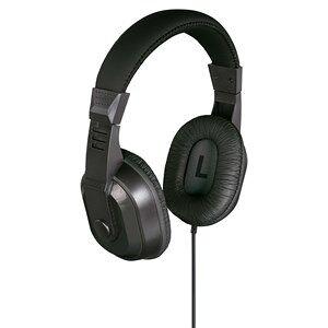 Thomson Hovedtelefon Over-Ear Til TV 8 meter kabel HED4407 Sort