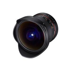 Samyang 12mm F2.8 ED AS NCS Fish-eye MILC Vidvinkellinse Sort