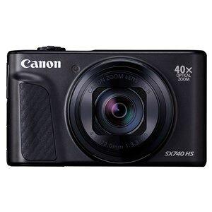 "Canon PowerShot SX740 HS Kompakt kamera 20,3 MP CMOS 5184 x 3888 pixel 1/2.3"" Sort"