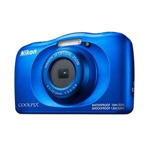 """Nikon COOLPIX W150 Kit Kompakt kamera 13,2 MP CMOS 4160 x 3120 pixel 1/3.1"""" Blå"""