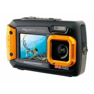 Easypix W1400 Active Kompakt kamera 14 MP CMOS 5184 x 3888 pixel Sort, Orange