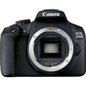 Canon EOS 2000D BK BODY EU26 SLR Kamerahus 24,1 MP CMOS 6000 x 4000 pixel Sort