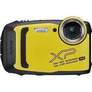 """Fujifilm FinePix XP140 Kompakt kamera 16,4 MP CMOS 4608 x 3456 pixel 1/2.3"""" Sort, Gul"""