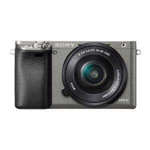 Sony a ILCE-6000 + E PZ 16-50mm MILC 24,3 MP CMOS 6000 x 4000 pixel Sort, Grafit