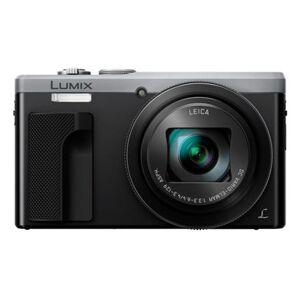 "Panasonic Lumix DMC-TZ81 Kompakt kamera 18,1 MP MOS 4896 x 3672 pixel 1/2.33"" Sort, Sølv"