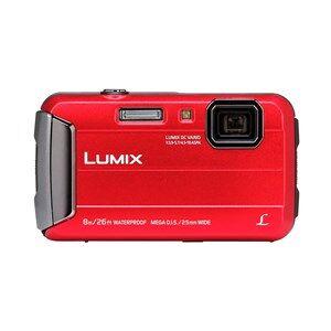 "Panasonic Lumix DMC-FT30 Kompakt kamera 16,1 MP CCD 4608 x 3456 pixel 1/2.33"" Rød"
