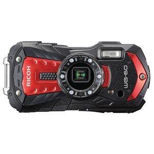 """Ricoh WG-60 Kompakt kamera 16 MP CCD 4608 x 3456 pixel 1/2.3"""" Rød"""
