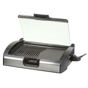 Steba VG 200 2200 W Grill Elektrisk Bordplade Sort, Sølv