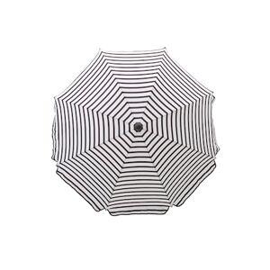 House Doctor Oktogon Parasol 180cm - Sort/Hvid