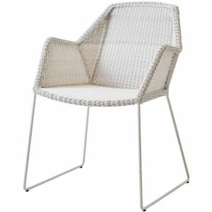 Cane-line-Breeze Stol White Grey, Weave