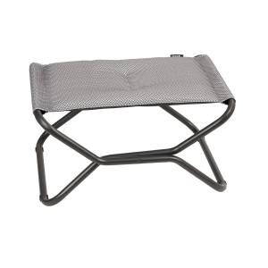 Lafuma-Next be Comfort footstool, Silver