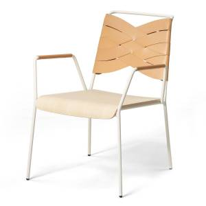 Design House Torso Lounge Stol, Ask/ Natur