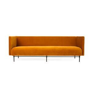 Warm Nordic-Galore 3 Pers. Sofa, Amber Velvet