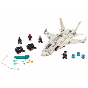 Lego Stark Jet and the Drone Attack