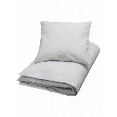 Cam Cam Sengetøj Grey Wave - Baby Spisetid - Cam Cam