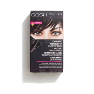 Gosh Permanent Root Touch-up Hair Colour - 413 - Blackest Black