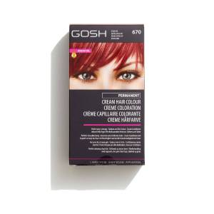 Gosh Hair Colour - 670 - Vivid Red