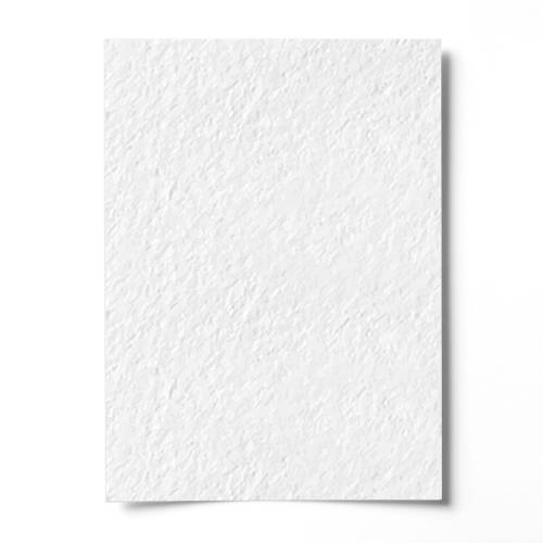"""James Croppers 500pcs White A4 Paper Card - 270gsm With Structure """"Hammer Effect"""""""
