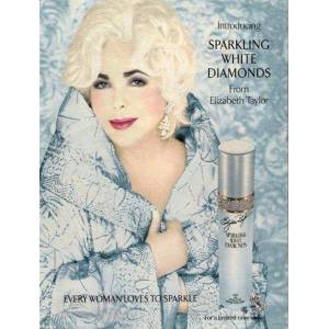 Taylor Elizabeth Taylor Sparkling White Diamonds Edt 30ml
