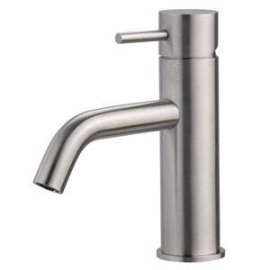 QTOO CIRCLE Håndvaskarmatur - matbørstet