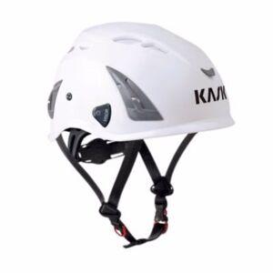 Kask sikkerhedshjelm hvid Plasma AQ, indbygget hagerem, EN 397 LD