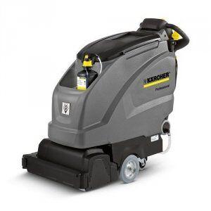 Kärcher Gulvvaskemaskine med valsebørster og dosering Kärcher B 40 W Bp Pack R55