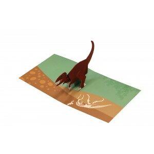2ToTango Pop-up Card Tyrannosaurus