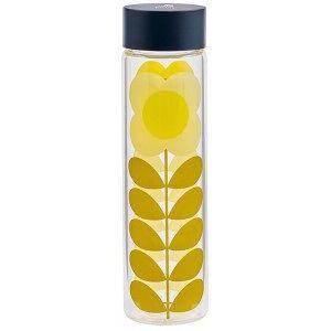 Orla Kiely Water Bottle Daisy Stem - Drikkeflaske