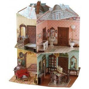 2ToTango Victorian Doll House Book