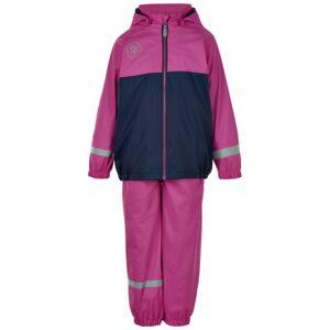 Color Kids regntøj m. fleece - Violet