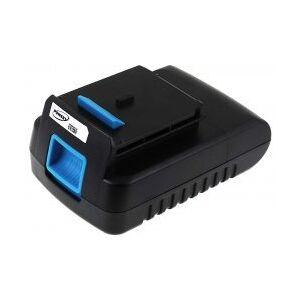 Black & Decker Batteri til Black&Decker HP146F4L 2000mAh