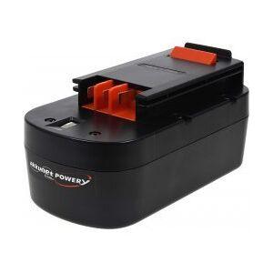 Black & Decker Batteri til Black & Decker grensav GPC1800 NiMH