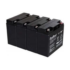 YUASA Standard-Typ FirstPower Bly-Gel Batteri til YUASA NP18-12 12V 18Ah VdS