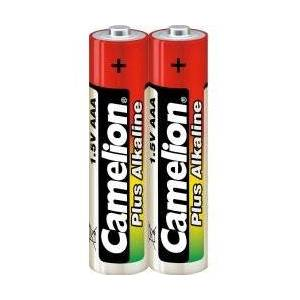 Micro AAA LR03 Batterier Camelion Plus Alkaline LR03 Micro 2er Shrink Folie