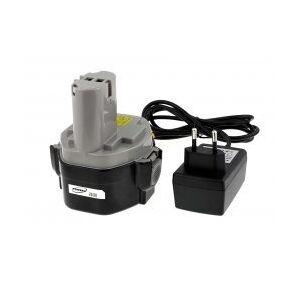 Makita Batteri til Makita Power-Line 6337DWDE Li-Ion inkl. Lader 2000mAh jap.Celler