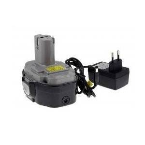 Makita Batteri til Makita Elektronik Pendelhub-4334DWD inkl. Lader 2000mAh jap.Celler