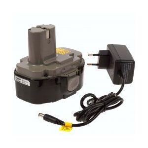 Makita Batteri til Makita Radio BMR101W Li-Ion inkl. Lader