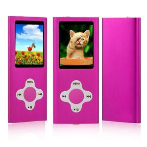ES Traders (Pink) MP3 Player 8GB Internal Memory