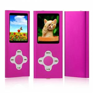 ES Traders (Pink) MP3 Player 8GB Internal Memory