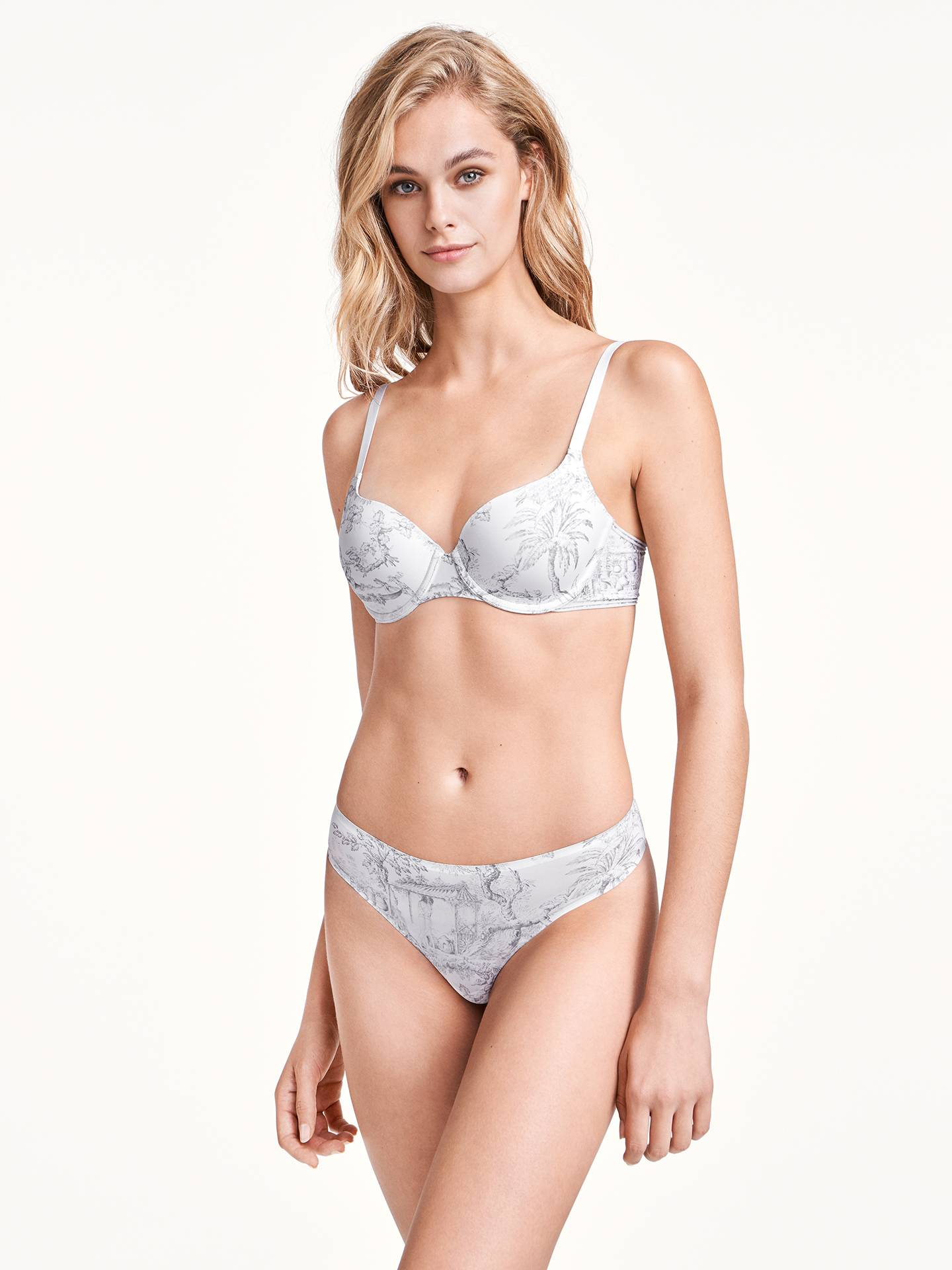 Wolford Antoinette Cup Bra - iconic white/black - 75A