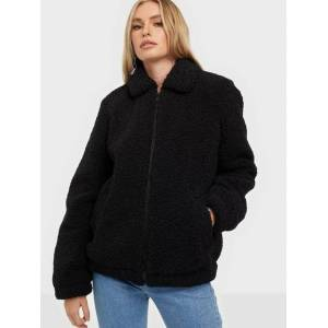 Noisy May Nmgabi L/S Short Jacket Noos Øvrige jakker Black