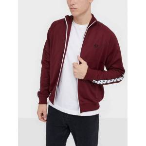 Fred Perry Taped Track Jacket Jakker & frakker Tawny Port