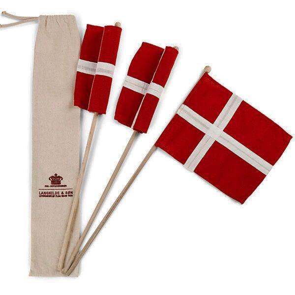 Langkilde og Søn Langkilde & Søn - Hurra Flag 3 stk
