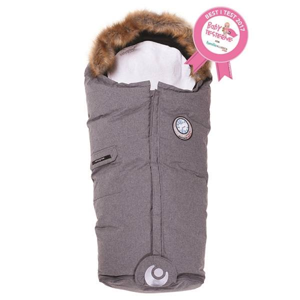 Easygrow Nature Kørepose - Grey Melange 14048 unisex  sort